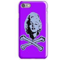 """R.I.P. Marilyn"" (violet) - phone iPhone Case/Skin"