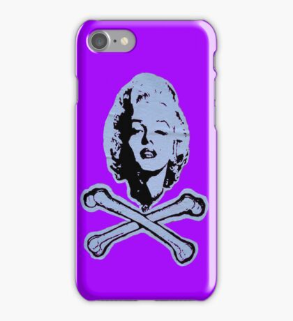 """R.I.P. Marilyn"" (violet) - phone iPhone Case/Skin"