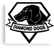Diamond Dogs Canvas Print