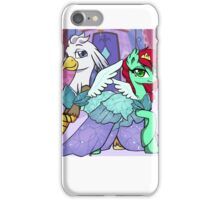 Sassy Silver Quill iPhone Case/Skin