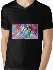 Sassy Silver Quill Mens V-Neck T-Shirt