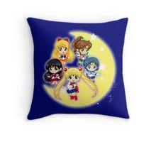 Sailor Senshi Throw Pillow