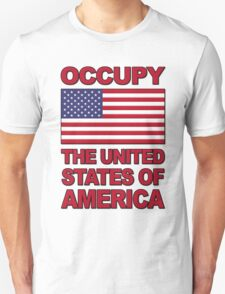 Occupy The United States of America T-Shirt