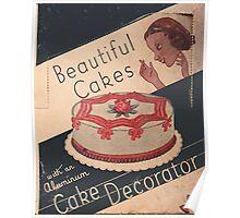 Cake Decorator Poster