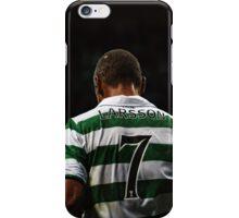Henrik Larsson 7 - Celtic Legend iPhone Case/Skin