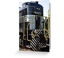 Engine 8223 Greeting Card