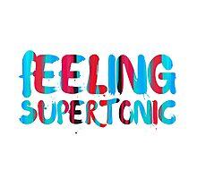 Feeling supertonic. Photographic Print