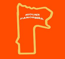 Mount Panorama Bathurst race circuit map Unisex T-Shirt