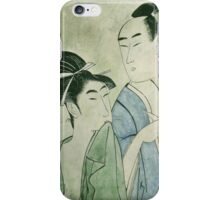 The Lovers Ochiyo and Handei iPhone Case iPhone Case/Skin