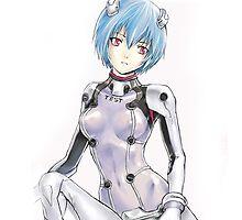 Ayanami Rei by Tsuyoshi