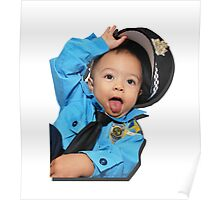 Sassy Policeman Poster