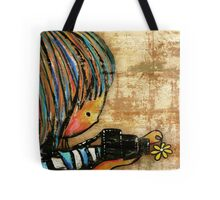 smile baby macro photography Tote Bag