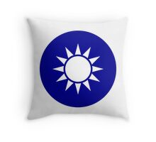 The Republic of China Air Force - Roundel Throw Pillow