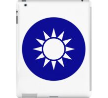 The Republic of China Air Force - Roundel iPad Case/Skin