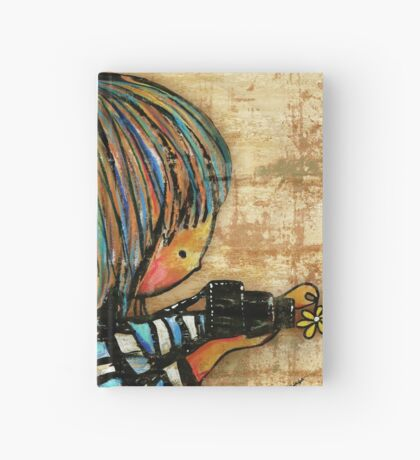 smile baby macro photography Hardcover Journal