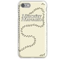 Mischief Managed iPhone Case iPhone Case/Skin
