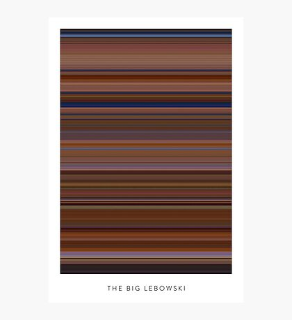 The Big Lebowski - Movie Poster - The Colors Of Motion Photographic Print