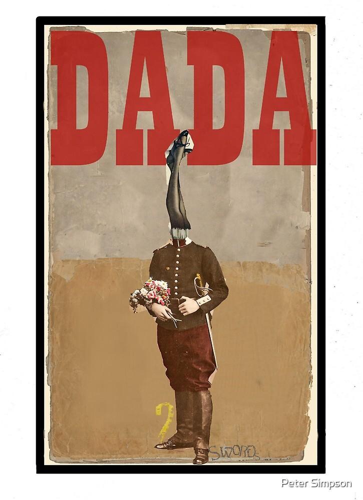 Dada Tarot- 2 of Swords by Peter Simpson