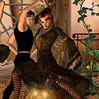 Halloween Tango ~ iPhone case by Fiery-Fire