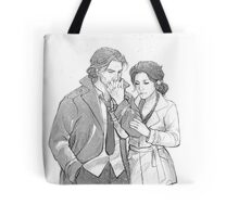 Bigby Wolf and Snow White Tote Bag