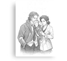 Bigby Wolf and Snow White Canvas Print