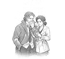 Bigby Wolf and Snow White Photographic Print