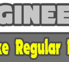 Funny Mechanical Engineer Gifts Sticker