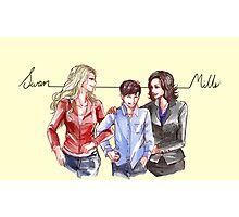 Swan Mills Family (Once Upon a Time) Photographic Print