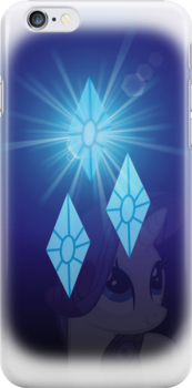 Rarity iPhone Case by SilverPonyWare