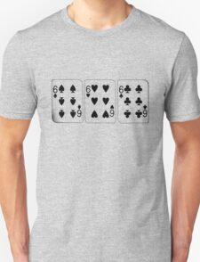 666 Cards - Black T-Shirt