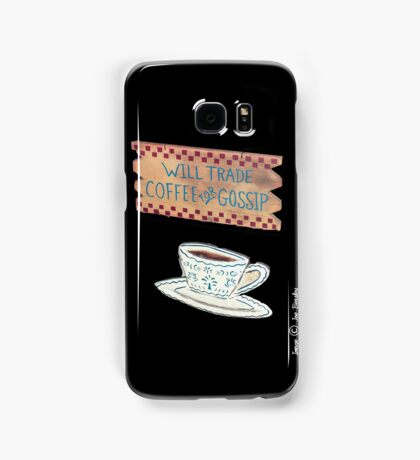 Coffee for Gossip Samsung Galaxy Case/Skin