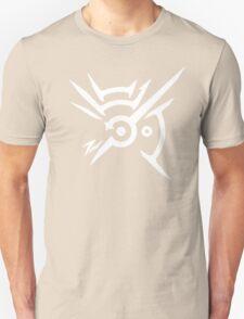 The Outsider Mark - White On Black T-Shirt
