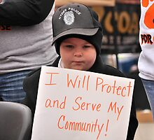 I will serve and protect by Ann Eldridge
