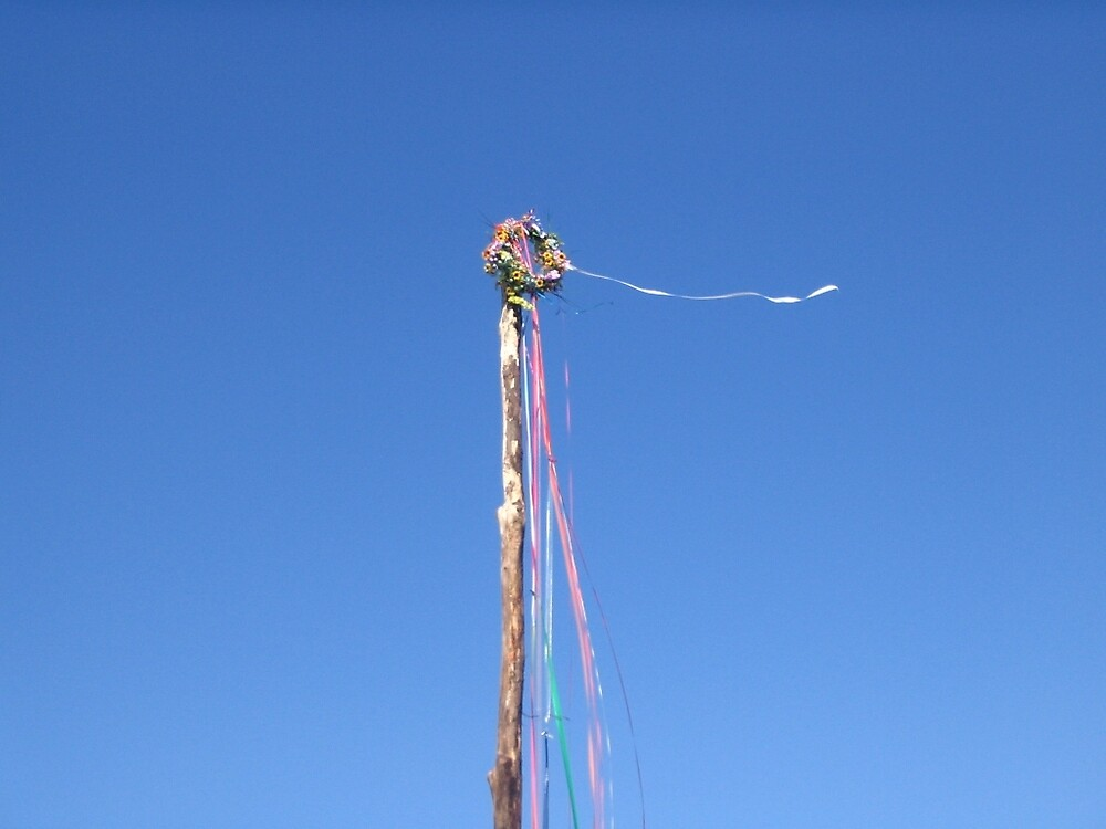 Pagan Beltane Maypole by imphavok