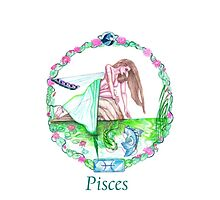Pisces ~ The Two FIshes iPhone Case by Sandra Gale