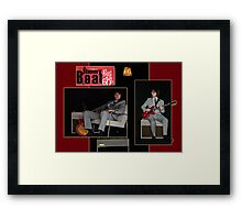 Presenting Jimmy Beat Framed Print