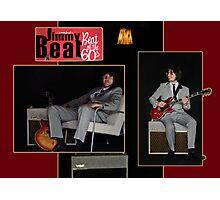 Presenting Jimmy Beat Photographic Print
