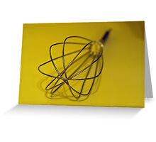 An Egg Beater Greeting Card