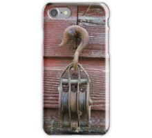 Pulley on a Barn iPhone Case/Skin