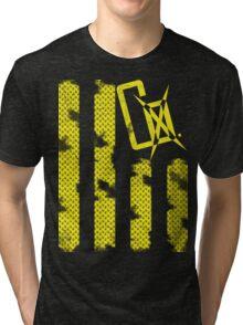 CoXtinkt Pledge your Allegiance T-shirt/yellow Tri-blend T-Shirt
