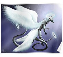 Angel of the Night Sky Poster