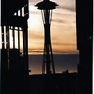 Space Needle by Randall Robinson
