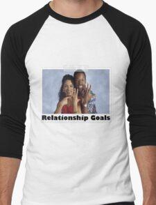 Relationship Goals Men's Baseball ¾ T-Shirt