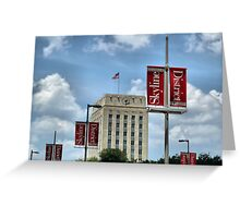 Skyline District Greeting Card