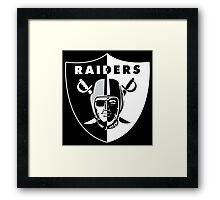 Raiders Nation  Framed Print