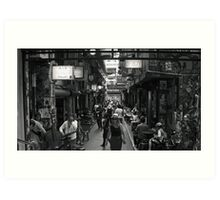 ~ Degraves Street Melbourne in B&W ~ Art Print