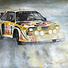 Audi Quattro S1 by Yuriy Shevchuk