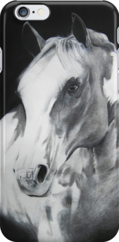 Equestrian Beauty iPhone Case by Carrie Jackson