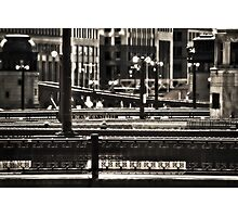 Chicago Bridges Photographic Print