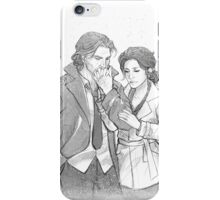 Bigby Wolf and Snow White iPhone Case/Skin